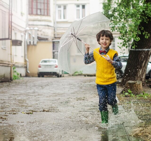 paraguas niño
