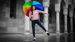 paraguas mr wonderful de colores